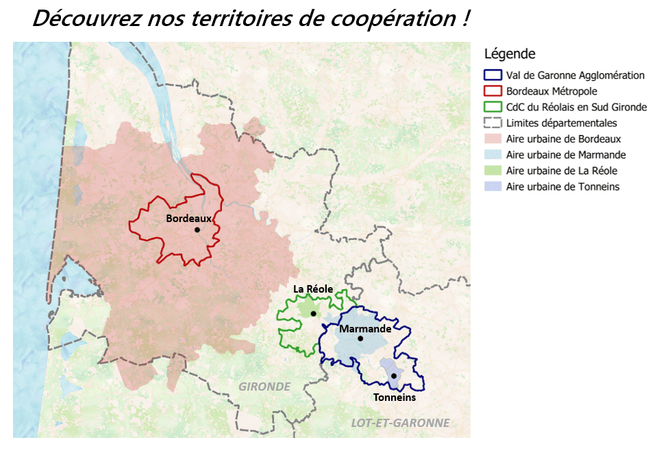 Cartographie - les coopérations territoriales